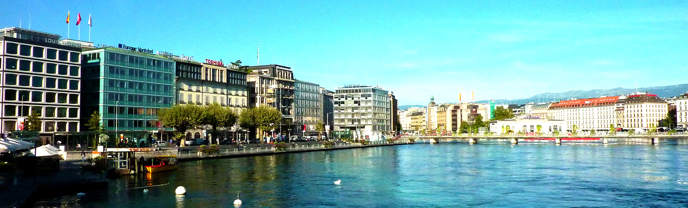Geneva business district